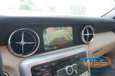 Mercedes SLK230 Backup Camera