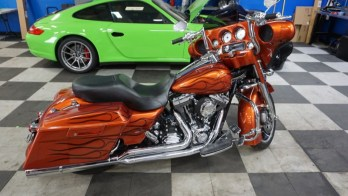 Reading Harley Owner Gets Street Glide Audio System