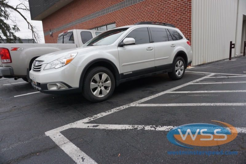 Reisterstown Client Gets Sony Upgrade In 2011 Subaru Outback