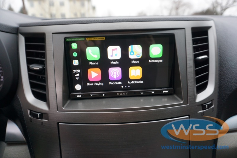 reisterstown client gets sony upgrade in 2011 subaru outback Subaru Car Radios