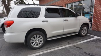 2010 Toyota Sequoia Gets Tint and Remote Start Upgrade