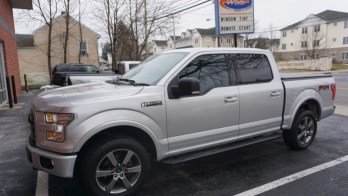 Local Client Improves 2015 Ford F-150 with 3M Color Stable Tint