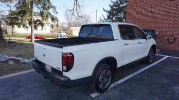 Repeat Client Adds Bed Cover to 2019 Honda Ridgeline