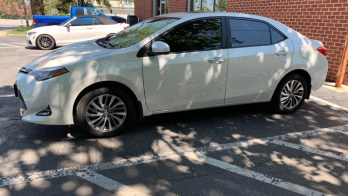 2018 Toyota Corolla Gets 3M Color Stable Window Tint Upgrade