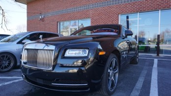 Rolls-Royce Wraith Gets Paint Protection Film