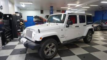Audio System and Lighting Upgrades for Sykesville Jeep Wrangler