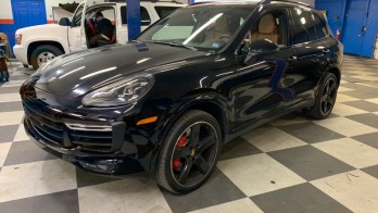 Porsche Cayenne Radar and Laser Protection for Baltimore Client