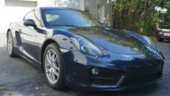 Dark Matter Window Tint Upgrade Applied to 2014 Porsche Cayman