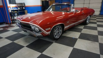 1968 Chevrolet Chevelle Gets New Audio System Upgrades