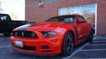 3M Paint Protection Film Protects Beautiful 2013 Ford Mustang Boss 302
