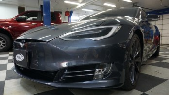 Tint, Radar and Laser Defense for Westminster Tesla P100D Owner
