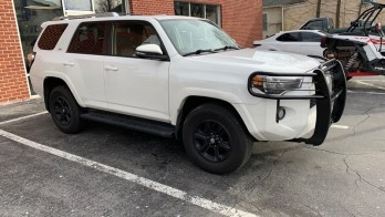 Remote Start and Grille Guard Upgrades for 2016 Toyota 4Runner