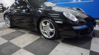 Stereo Upgrade for Porsche 911 Carrera S from Manchester