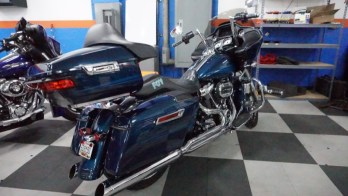 Audio System Upgrade for Baltimore 2020 Harley Road Glide Motorcycle