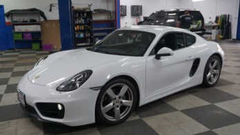 Stereo Upgrade for 2014 Porsche Cayman from Frederick
