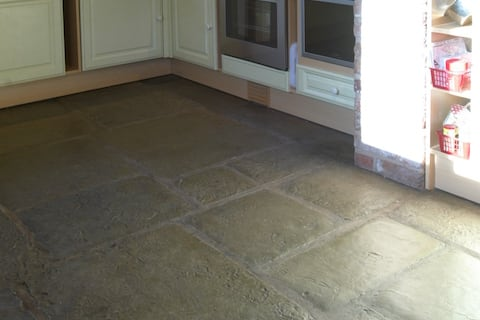 how to wax a stone floor westminster