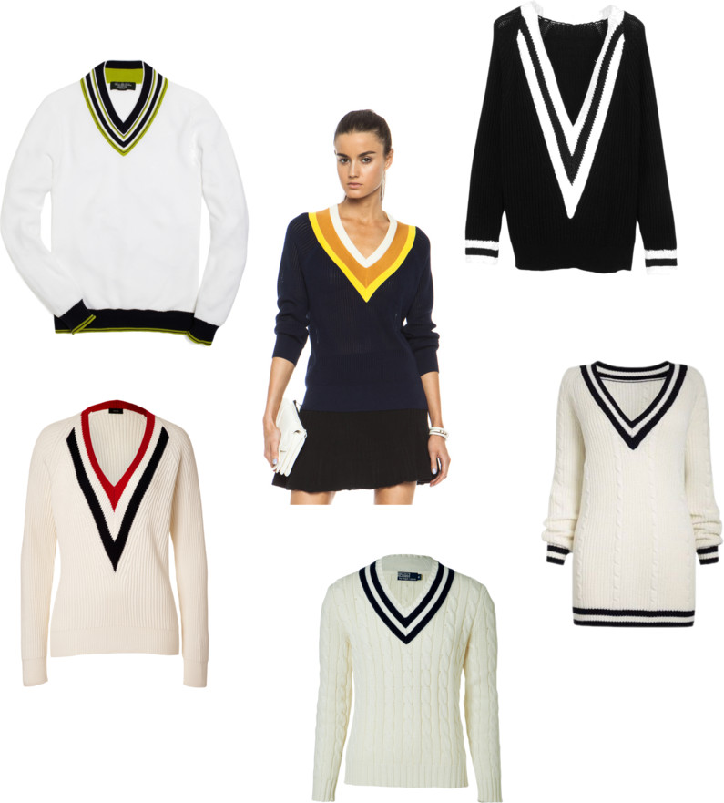 Trend Spotting: Tennis Sweaters