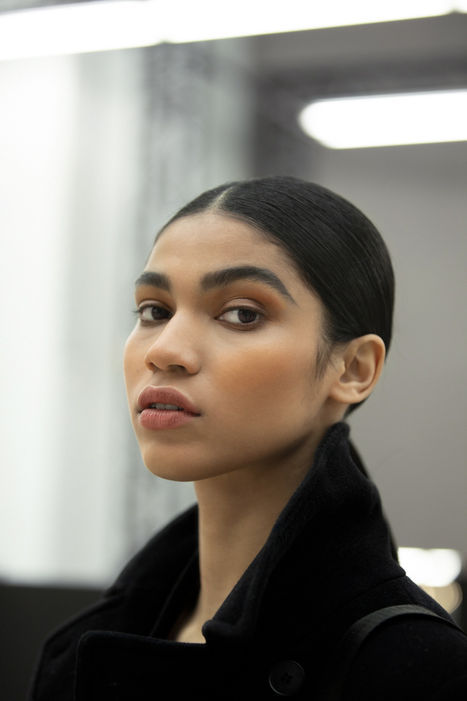 a close up look of the CHANEL Haute Couture SS21 Beauty Look