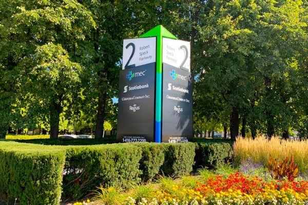 MEC: Mississauga Executive Centre Pylon