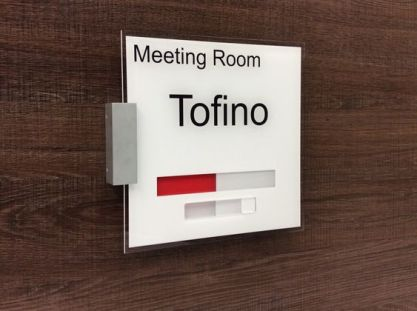 business meeting room signs