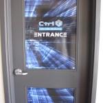 image of Ctrl V Red Deer door graphics