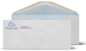 image of the Envelope Printing for the Heimbecker Mortgage Group