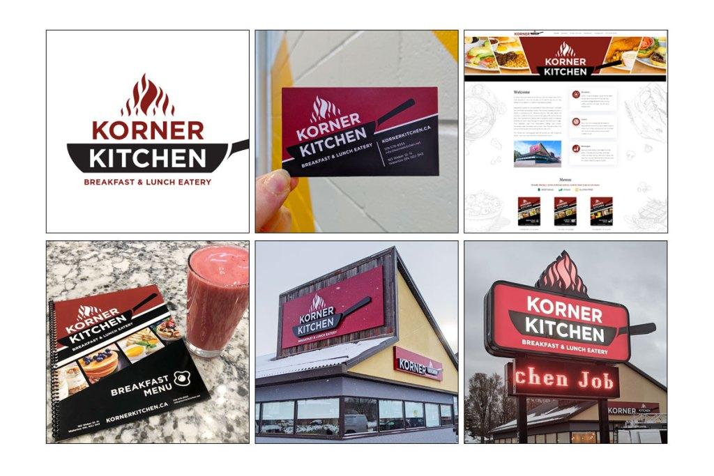 Branding for Korner Kitchen