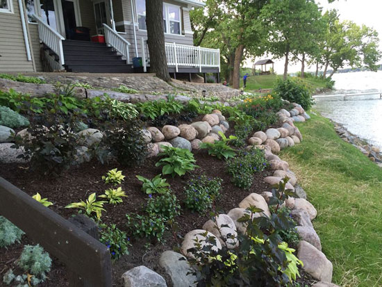 A word from our sponsors: Allstar Lawncare can help you ... on Tiered Yard Landscaping id=33543