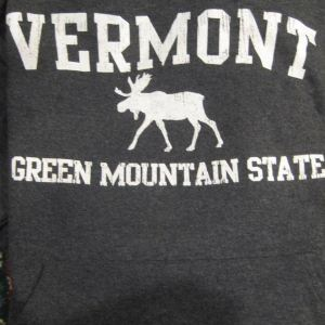Green Mountain State Moose Hooded Sweatshirt