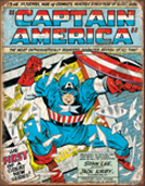 Captain America Comic Cover