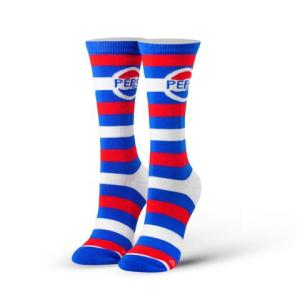 Pepsi Cola (Striped) Cool Socks