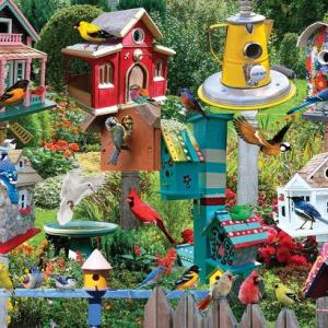 Birdhouse Village 1000 pc.