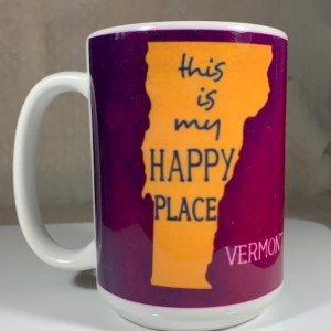 This is my Happy Place Vermont Coffee Mug