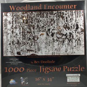 Woodland Encounter 1000 pc.