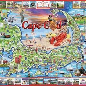 Cape Cod, MA 1000 pc.