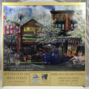 Afternoon On Main Street 1000 pc.
