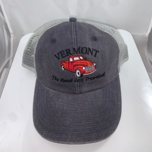 Vermont Road Less Traveled Mesh Hat