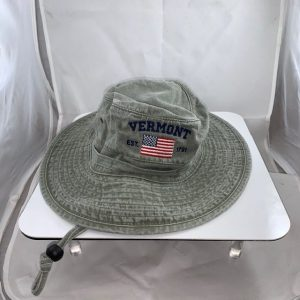 Vermont American Flag Bucket Hat