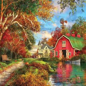 Autumn Barn 1000 pc.