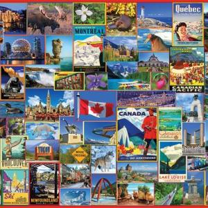 Best Places in Canada 1000 pc.