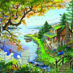 By the Lake 1000 pc.