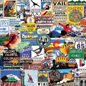 I Love Colorado 1000 pc.