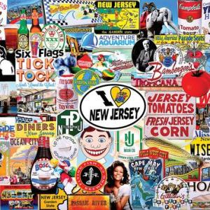 I Love New Jersey 1000 pc.