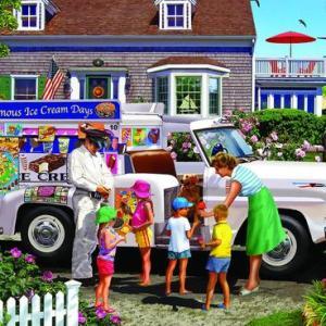 Ice Cream Truck 1000 pc.