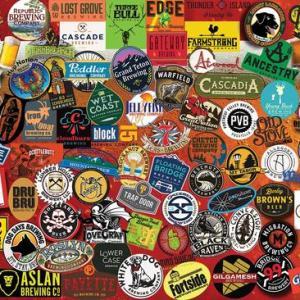 Pacific Northwest Beer 1000 pc.