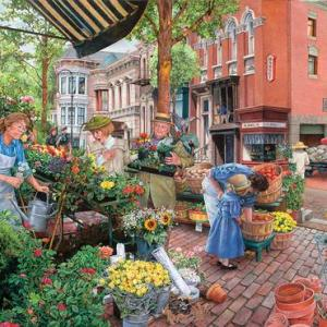 Sidewalk Flower Sale 1000 pc.