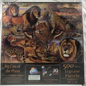 Big Cats of the Plains 500 pc.