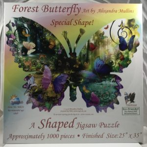 Shaped Forest Butterfly 1000 pc.