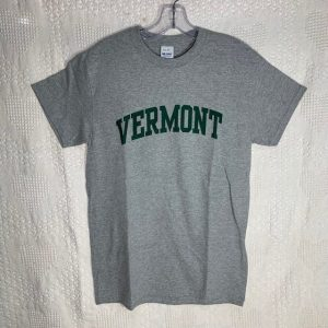 Green and Grey Vermont T-Shirt