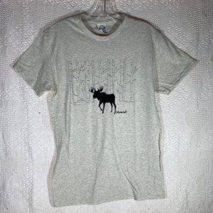 Moose in Woods T-Shirt